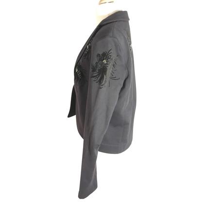 Schumacher Sweatblazer in dark gray