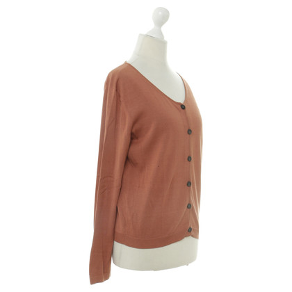 Jil Sander Strickjacke in Orange