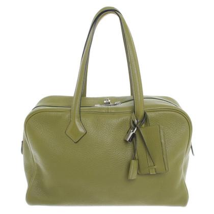 Hermès 'Victoria Bag' in verde