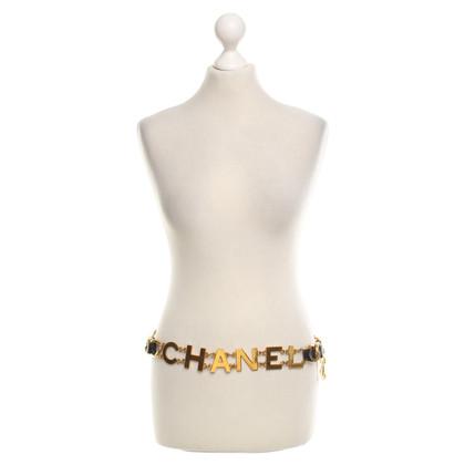 Chanel cintura a catena color oro