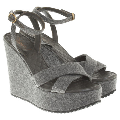 Yves Saint Laurent Wedges in grey