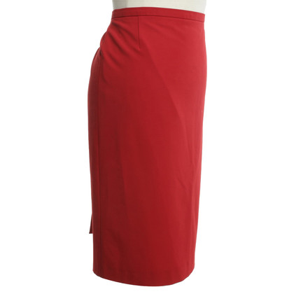 Wolford Pencil skirt in red