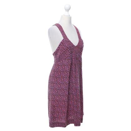 Sandro Silk dress in multicolor