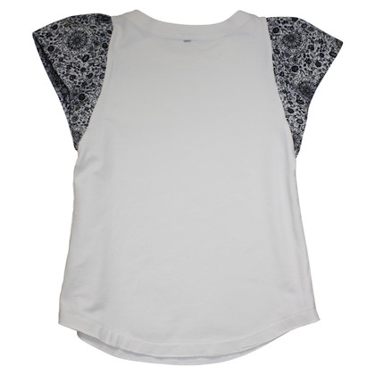 Pinko T-shirt with patterned sleeves