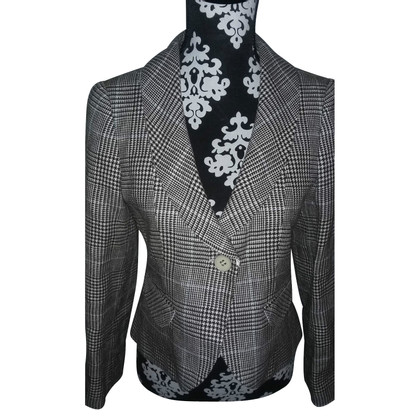 Armani Collezioni Pepita elegant blazer