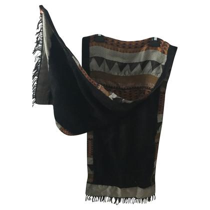 Etro Sjaal mohair en zijde