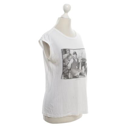 Dolce & Gabbana Crème-kleurige T-shirt met print