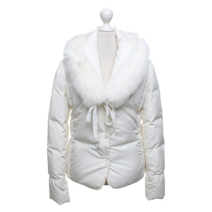 Blumarine Down jacket in white