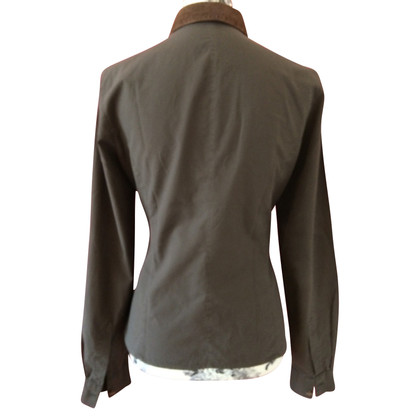 Hugo Boss Taupe-colored blouse