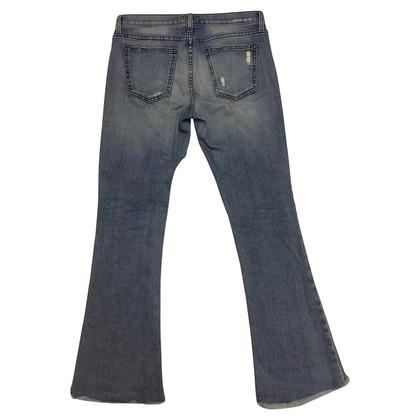 Current Elliott Jeans a distressed look