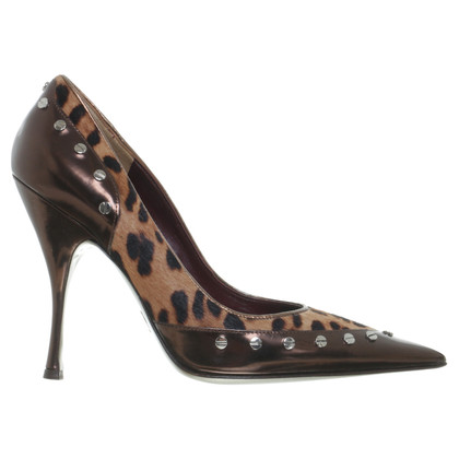 Dolce & Gabbana Pumps im Animal-Look