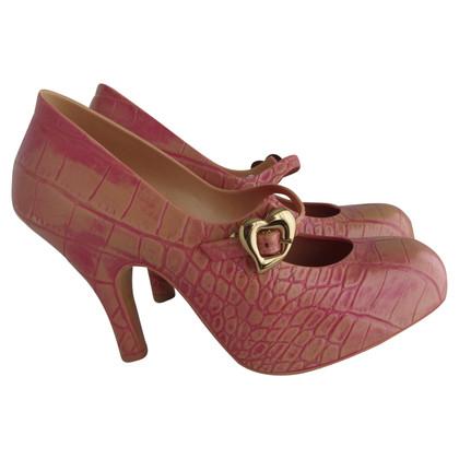 Vivienne Westwood pumps in reptile look