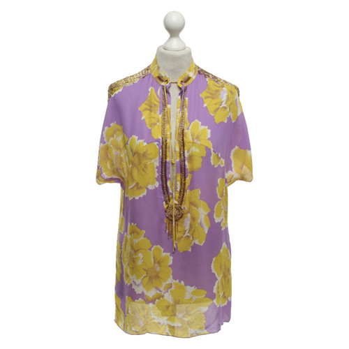 newest 69203 0018b Antik Batik Tunica di seta con motivo - Second hand Antik ...