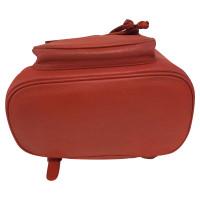 MCM rouge sac à dos mcm