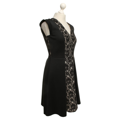 Sport Max Dress with lace in black