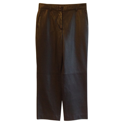 St. Emile trousers made of leather