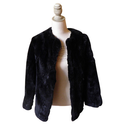 Twin-Set Simona Barbieri giacca di vera pelliccia