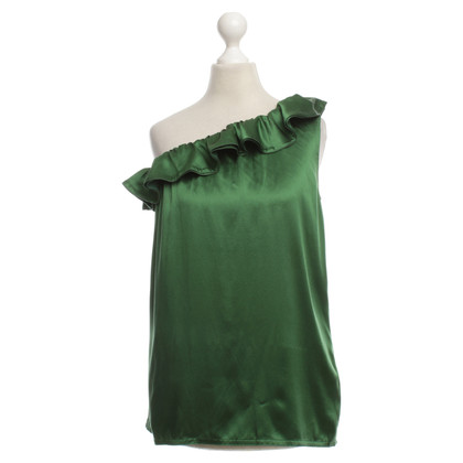 Joseph Top in seta verde