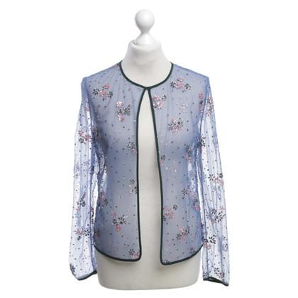 Mary Katrantzou Transparent jacket with glitter