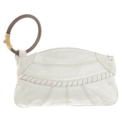 Valentino clutch with wooden ring