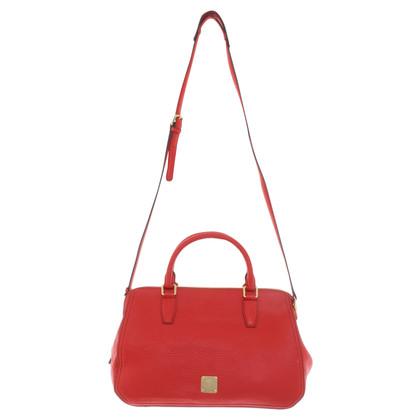 MCM Handtasche in Rot
