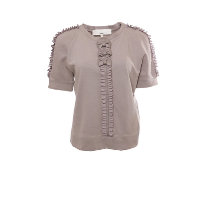 Elisabetta Franchi Top in Taupe
