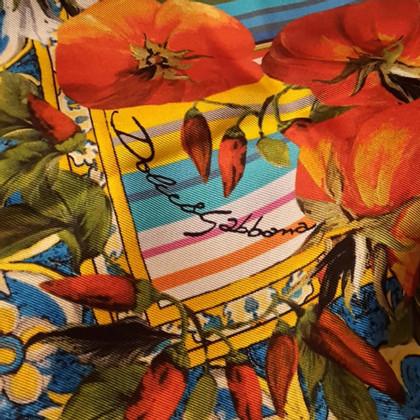 Dolce & Gabbana sciarpa di seta