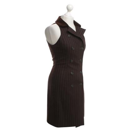 Ralph Lauren Coat dress with pinstripes