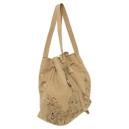 Other Designer Kennel & Schmenger - suede bag in the hole design