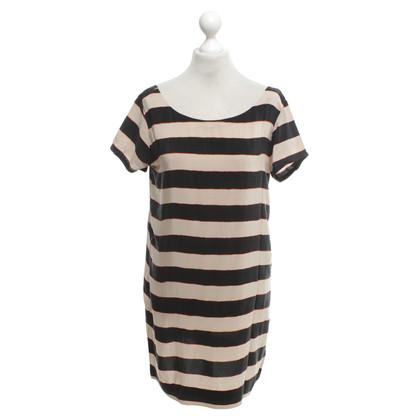 Joie zijden jurk Stripe
