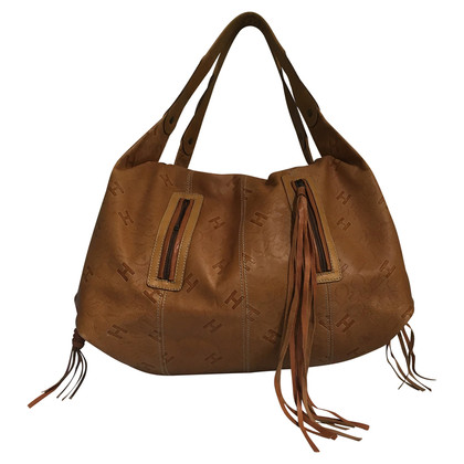 Hogan Ledertasche in Cognac