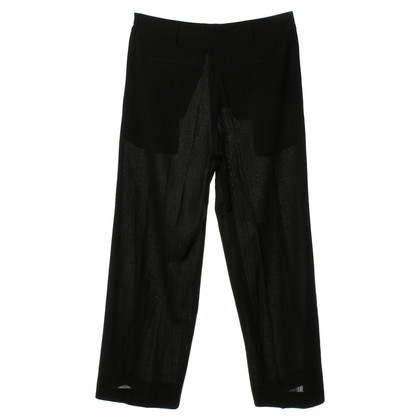 Ann Demeulemeester Pantaloni in nero