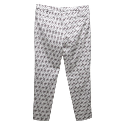 St. Emile trousers with weave pattern