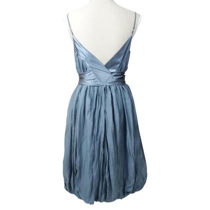 By Malene Birger Robe à bretelles en bleu