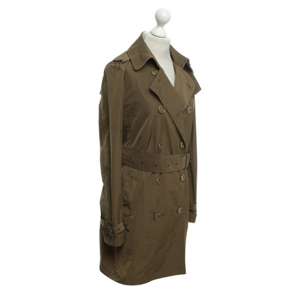 Burberry Trench coat in olive green