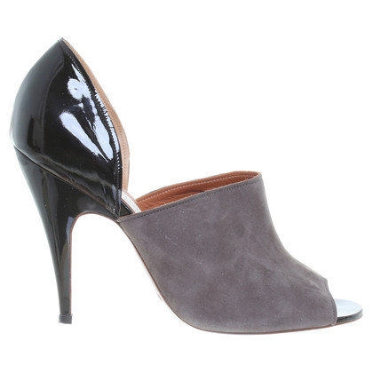 Lanvin Peep-toes in grey/black