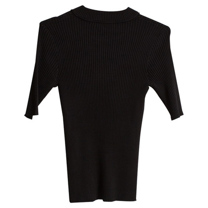 Carven Short sleeve top in rib look