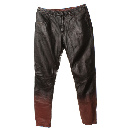 Muubaa Leather pants with gradient