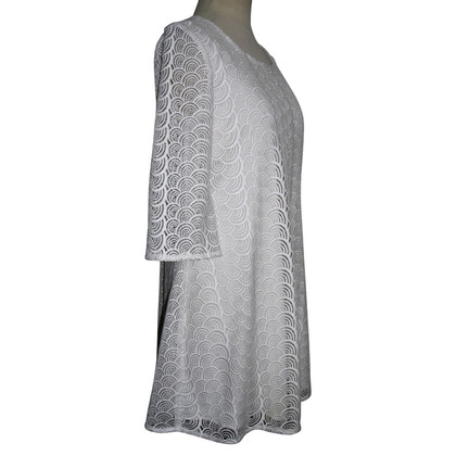 Diane von Furstenberg Spitzenkleid in Weiß