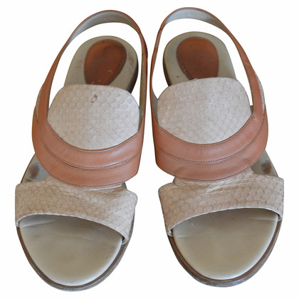 Chloé  Python sandals