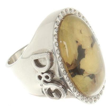 Dolce & Gabbana Anello con pietre gioielli
