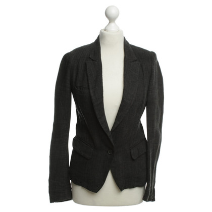 Isabel Marant Linen Blazer with herringbone