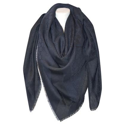 Gucci Guccissima doek in blauw / zwart