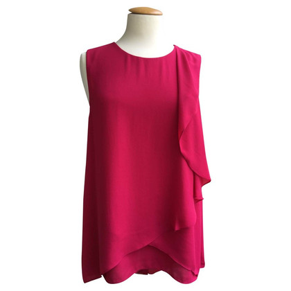 BCBG Max Azria top in fire red
