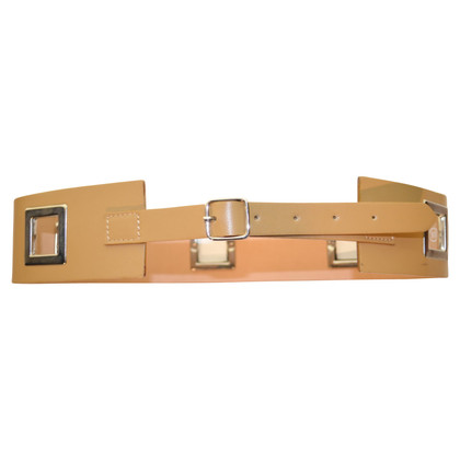 John Galliano leather belt