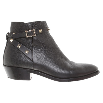 Valentino Bottines en noir