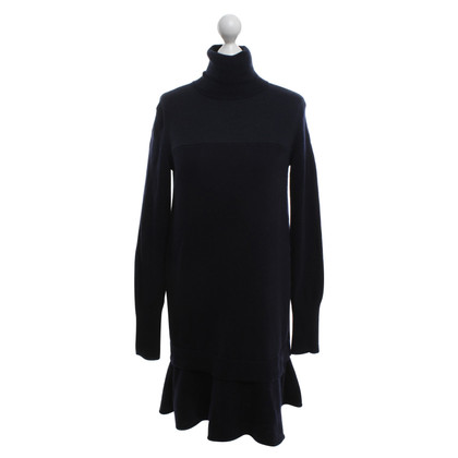 McQ Alexander McQueen Knit dress in dark blue