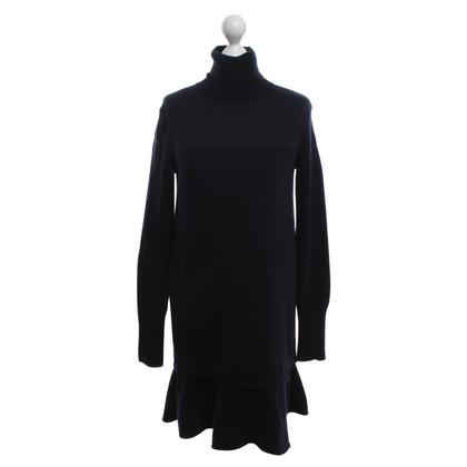 McQ Alexander McQueen vestito lavorato a maglia in blu scuro