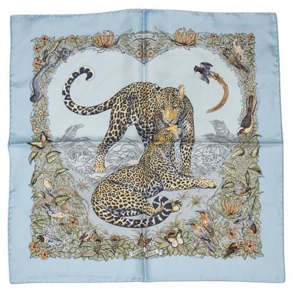 """Hermès Silk scarf """"Jungle Love"""""""