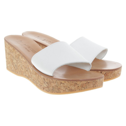 K Jacques Sandals in beige